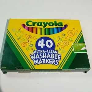 Crayola Ultra-Clean Fine Line Markers
